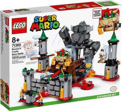 LEGO 71369 SUPER MARIO - Bowser's Castle Boss Battle Expansion Set