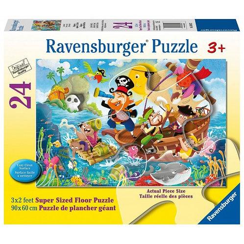 RAVENSBURGER 24 PCS FLOOR PIRATES
