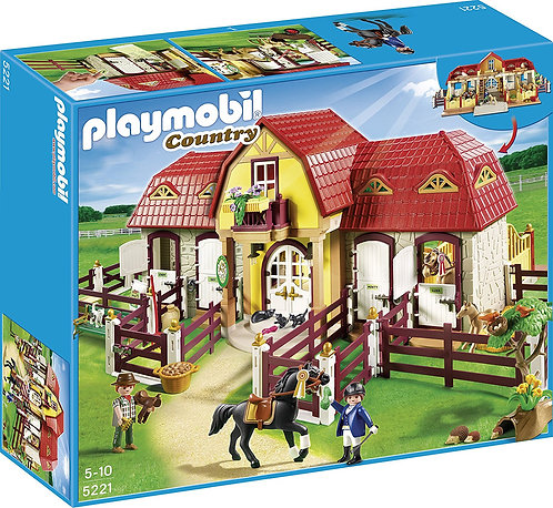PLAYMOBIL 5221 COUNTRY - Large Horse Farm