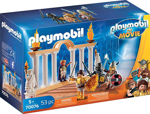 PLAYMOBIL 70076 THE MOVIE - Emperor Maximus in the Colosseum