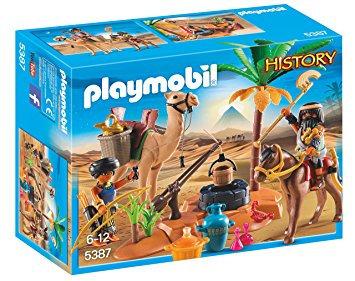 PLAYMOBIL 5387 HISTORY - Tomb Raiders' Camp