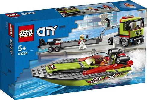 LEGO 60254 CITY - Race Boat Transporter