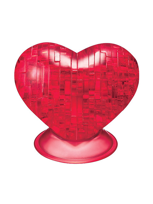 CRYSTAL PUZZLE RED HEART