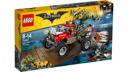 LEGO 70907 BATMAN - Killer Croc™ Tail-Gator