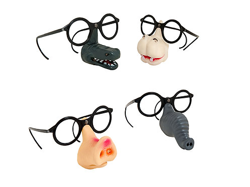 FUNNY GLASSES WITH ANIMAL NOSE