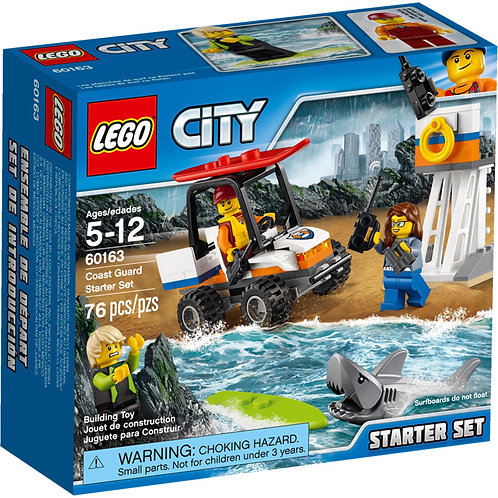 LEGO 60163 CITY - Coast Guard Starter Set