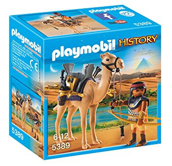 PLAYMOBIL 5389 HISTORY - Egyptian Warrior with Camel