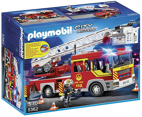 PLAYMOBIL 5362 CITY ACTION - Ladder Unit with Lights and Sound