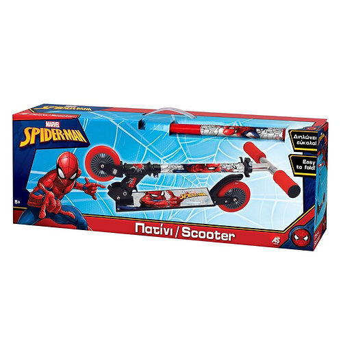 EASTER CANDLE 2-WHEEL SCOOTER SPIDERMAN