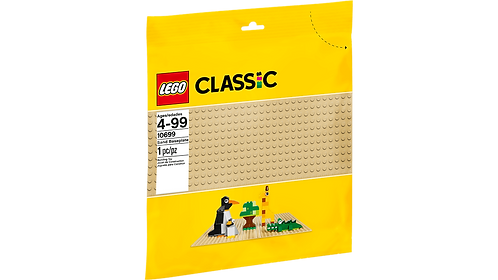 LEGO 10699 CLASSIC - Sand Baseplate