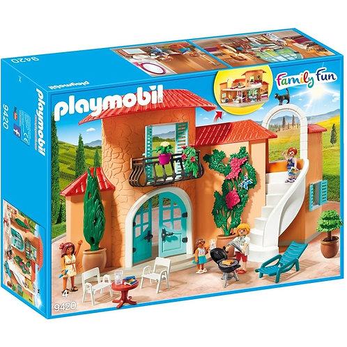 PLAYMOBIL 9420 FAMILY FUN - Summer Villa