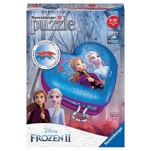 3D PUZZLE 216 PCS HEART BOX FROZEN II