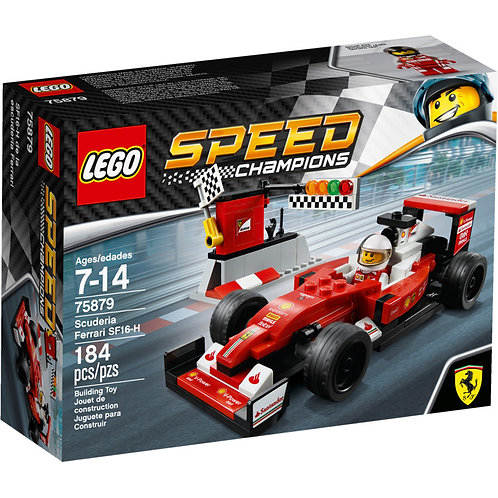 LEGO 75879 SPEED CHAMPIONS - Scuderia Ferrari SF16-H Set