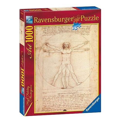 RAVENSBURGER PUZZLE 1000 PCS DA VINCI: STUDY