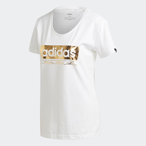 ADIDAS FOIL GRAPHIC TEE (GL2847)