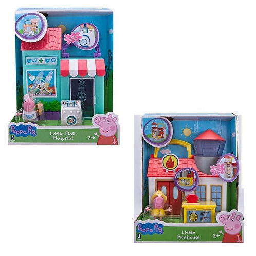 PEPPA PIG FIREHOUSE LITTLE PLACES (PPC55210)
