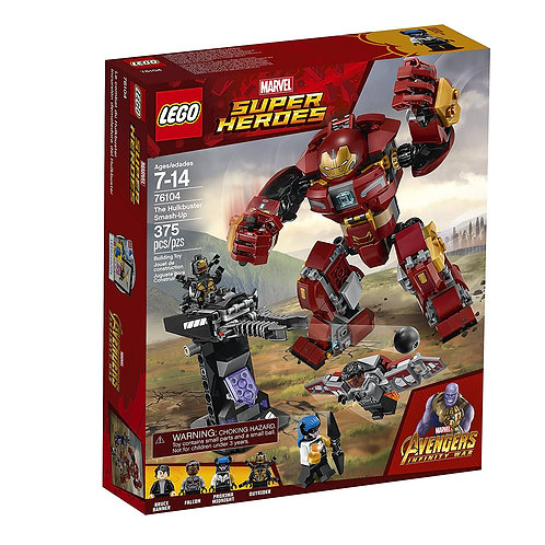 LEGO 76104 SUPER HEROES - The Hulkbuster Smash-Up
