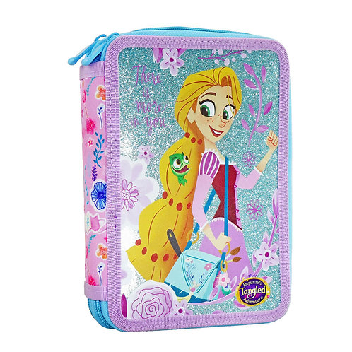 TANGLED DOUBLE PENCIL CASE