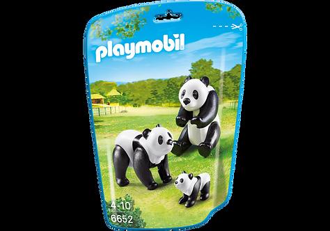 PLAYMOBIL 6652 CITY LIFE - Panda Family