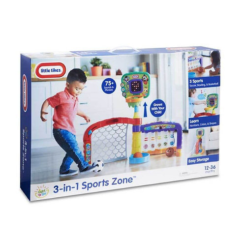 LITTLE TIKES 3-IN-ONE SPORTS ZONE (LTF06000)