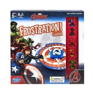 AVENGERS FRUSTRATION GAME in English