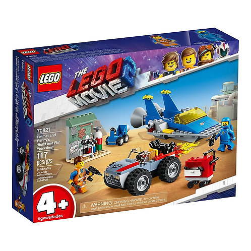 LEGO 70821 THE LEGO MOVIE 2 - Emmet and Benny's 'Build and Fix' Workshop!