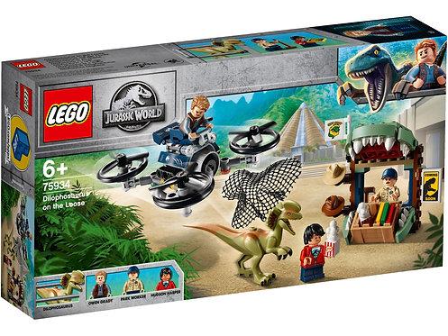 LEGO 75934 JURASSIC WORLD - Dilophosaurus on the Loose