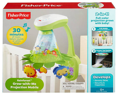 Fisher-Price Rainforest™ Grow-with-Me Projection Mobile