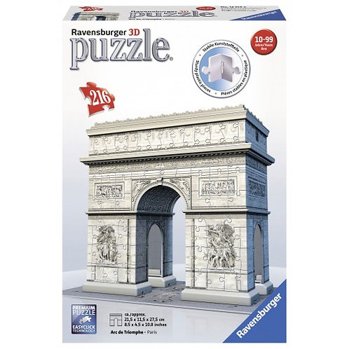 3D PUZZLE MIDI 216 PCS TRIUMPHAL ARCH