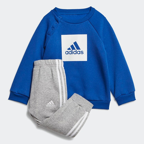 ADIDAS 3-STRIPES FLEECE JOGGER SET (GD3928)