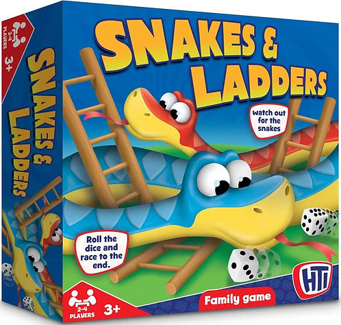SNAKES AND LADDERS (ENGLISH)