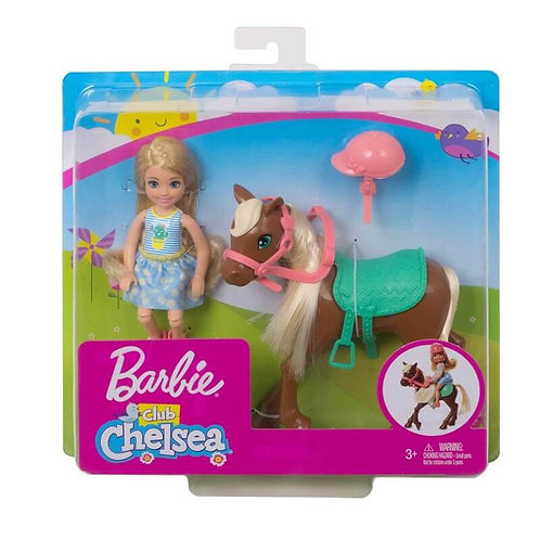 BARBIE CLUB CHELSEA WITH PONY (GHV78)