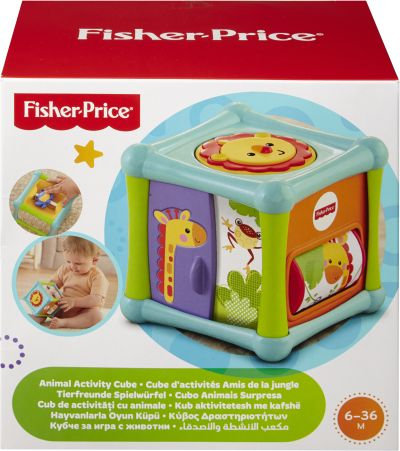 FISHER-PRICE ANIMAL ACTIVITY CUBE (BFH80)