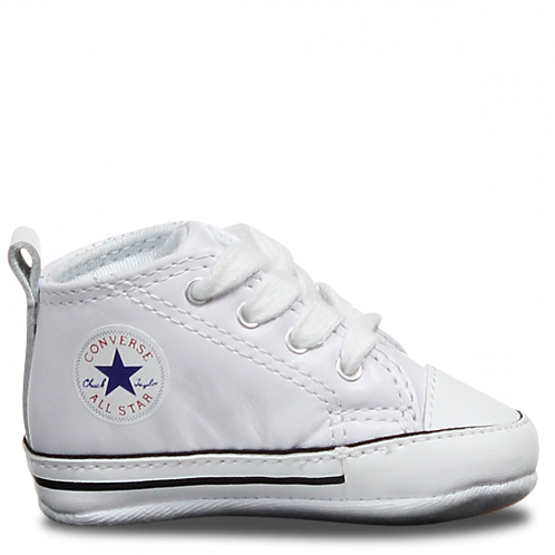 CONVERSE CHUCK TAYLOR FIRST STAR HI - LEATHER WHITE