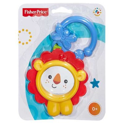Fisher-Price Friendly Lion/Frog Teether Toy