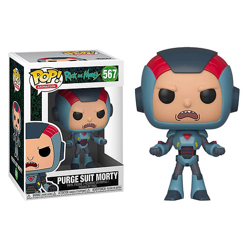 FUNKO POP! ANIMATION: RICK AND MORTY S6 - PURGE SUIT MORTY #567 VINYL FIGURE