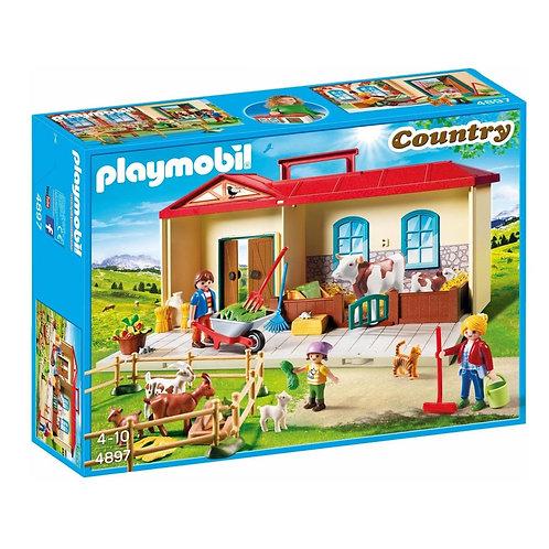 PLAYMOBIL 4897 COUNTRY - Take Along Farm