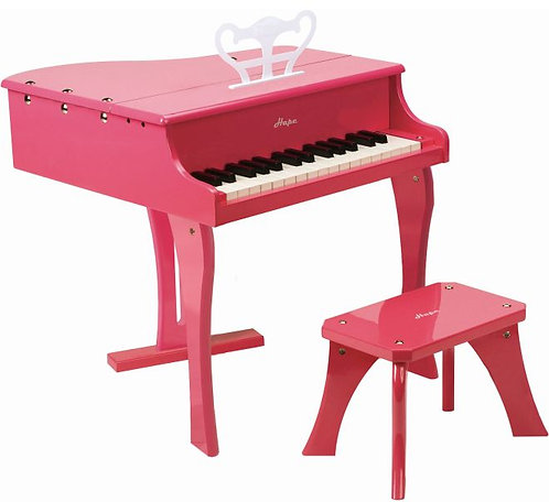 HAPE EARLY MELODIES WOODEN PIANO (E0319)