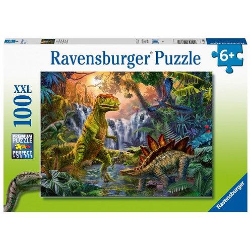 RAVENSBURGER PUZZLE 100XXL PCS DINOSAURS