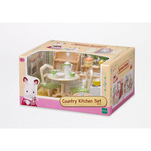 SYLVANIAN FAMILIES: COUNTRY KITCHEN SET (5033)