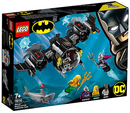 LEGO 76116 DC - Batman Bat Sub and Underwater Clash