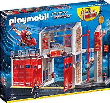 PLAYMOBIL 9462 CITY ACTION - Fire Station with Fire Alarm