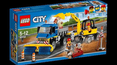 LEGO 60152 CITY - Sweeper & Excavator