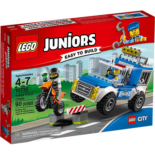 LEGO 10735 JUNIORS - Police Truck Chase Set