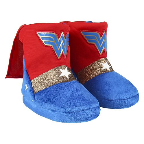 WONDER WOMAN HOUSE SLIPPERS BOOT (2300004558)
