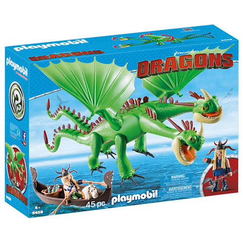 PLAYMOBIL 9458 DRAGONS - Ruffnut and Tuffnut with Barf and Belch