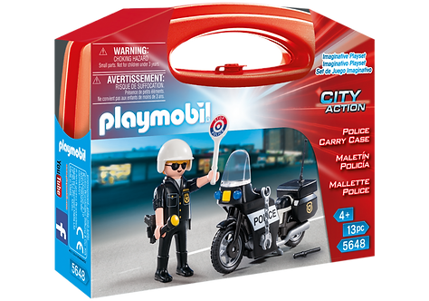 PLAYMOBIL 5648 CITY ACTION - Police Carry Case