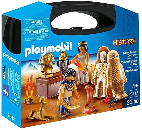 PLAYMOBIL 9542 HISTORY - Estonia Egyptian Treasure Carry Case