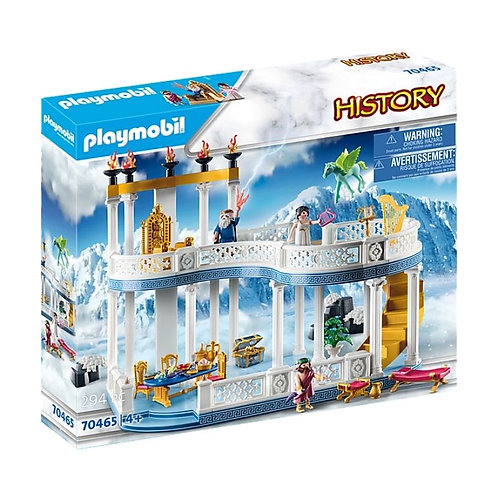 PLAYMOBIL 70465 HISTORY - Palace on Mount Olympus