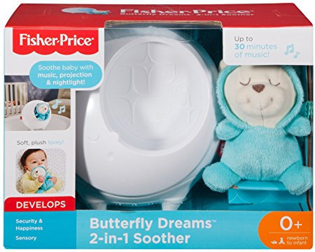 Fisher-Price Butterfly Dreams 2-in-1Soother